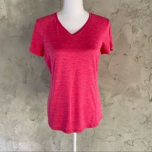 Workout shirt by Danskin Now Semi-fitted DRI MORE